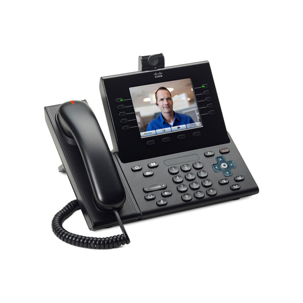 Cisco CP-9951-C-CAM-K9 Unified IP Phone 9951 Standard - IP video phone - SIP - charcoal gray