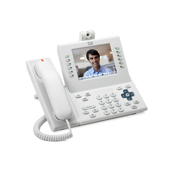 Cisco CP-8961-W-K9= Unified IP Endpoint 8961 Standard Handset, Arctic White — N/A