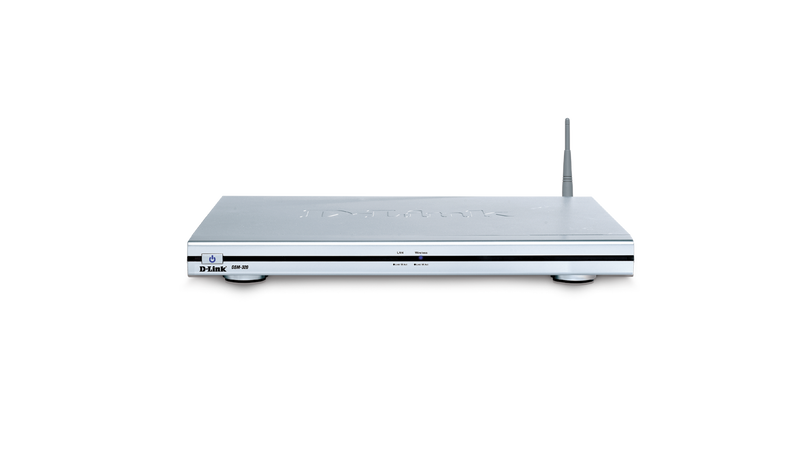 D-Link DSM-320 Audio/Photo/Video Wireless Media Player