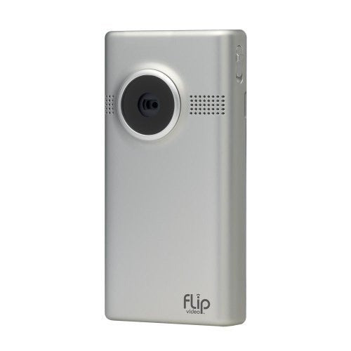 Flip MinoHD Video Camera 4 GB, 1 Hour (3rd Generation) - Silver