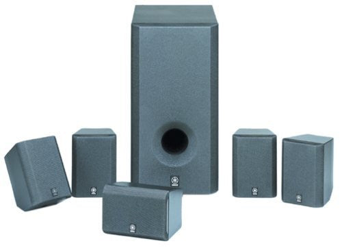 Yamaha NS-P220 6-Piece Home Theater Speaker and Subwoofer System (Discontinued by Manufacturer)