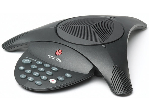 Polycom WI-ZZOC-8EDT SoundStation 2 with Power Supply (Non Expandable, Non Display)