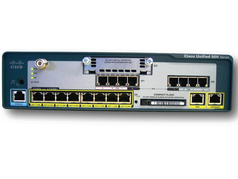 Cisco UC520-48U-T/E/F-K9 Unified Communication Chassis