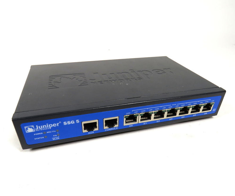 Juniper SSG-5-SH-W-US Wireless Security Services Gateway 5