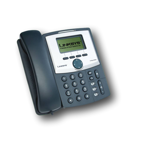 Cisco-Linksys SPA922 1-line IP Phone with 2-port Switch