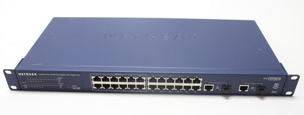 Netgear POE Switch 24 Port Gigabit ProSafe (FS726TPNA)