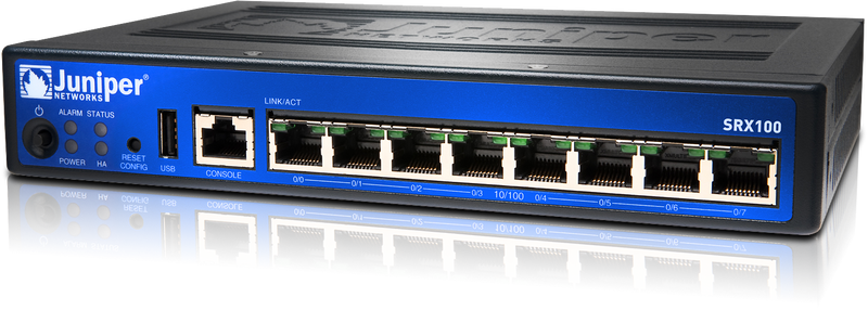 Juniper Svcs Gateway 100 with 8xfe (SRX100B)