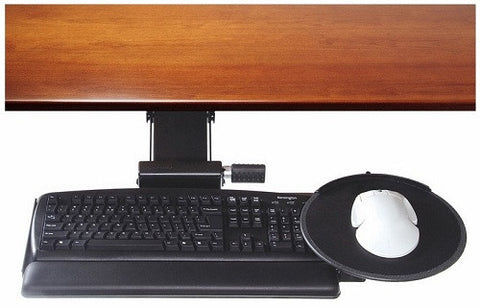 "Humanscale 500 Keyboard Tray Big Board Platform w/ 2G Arm mechanism, 22"" track, and Gel palm rest"