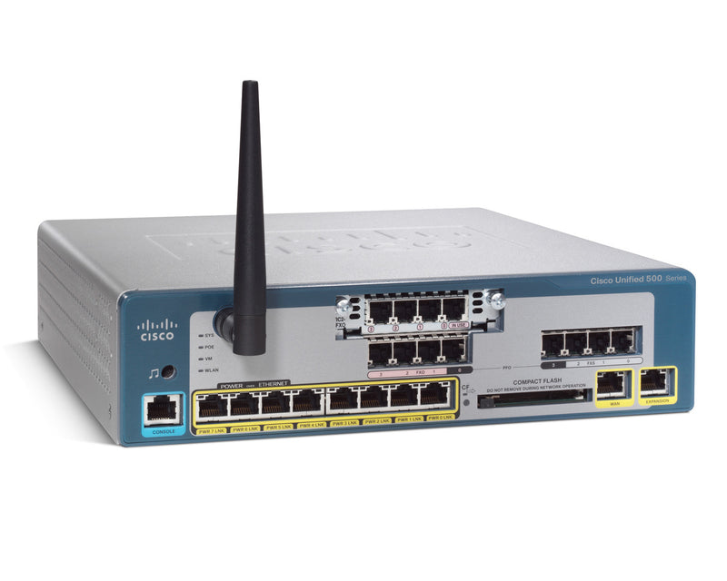Cisco Unified Communications UC520-32U-8FXO-K9