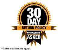 30-Day Return Policy - No Questions Asked!