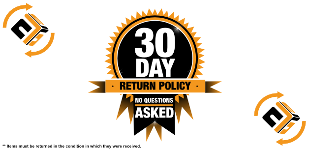 30-Day Returns, No Questions Asked!