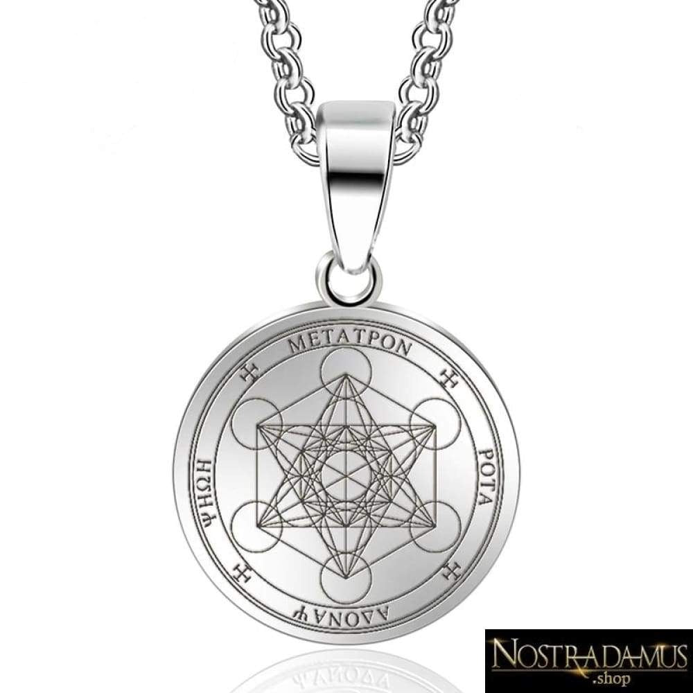 Cube de Métatron - Guidance & Protection - Pendentif Colliers