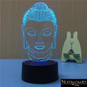 Lampes à LED Effet Hologramme Bouddha - LED Night Lights