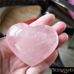 Cur en Quartz Rose Tendresse - Pierres