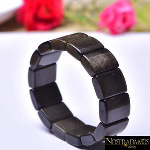 Bracelet Purification & Protection en Obsidienne