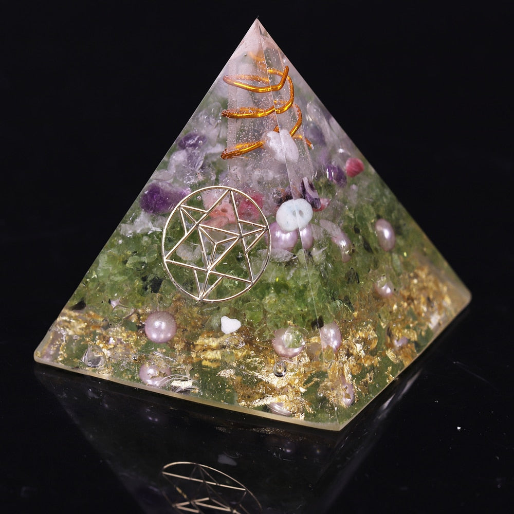 Orgonite 'Purification & Abondance'