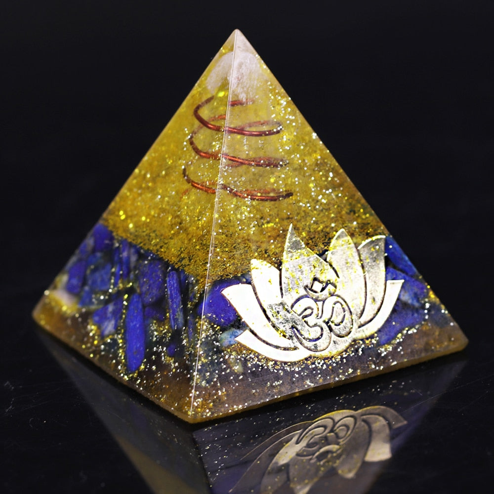 Orgonite d'Attraction de la Chance