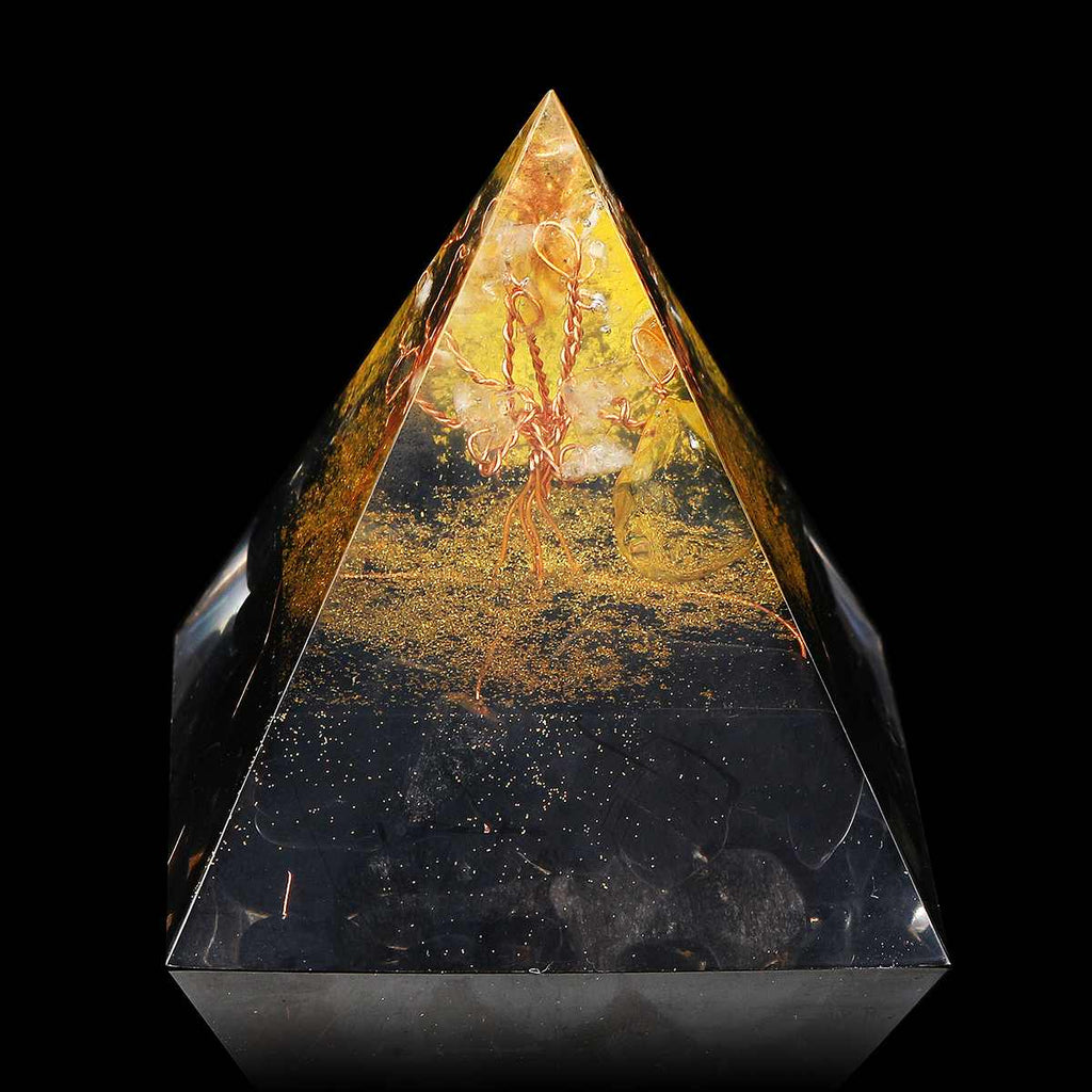 Orgonite 'Bouclier de Protection' - 6 cm