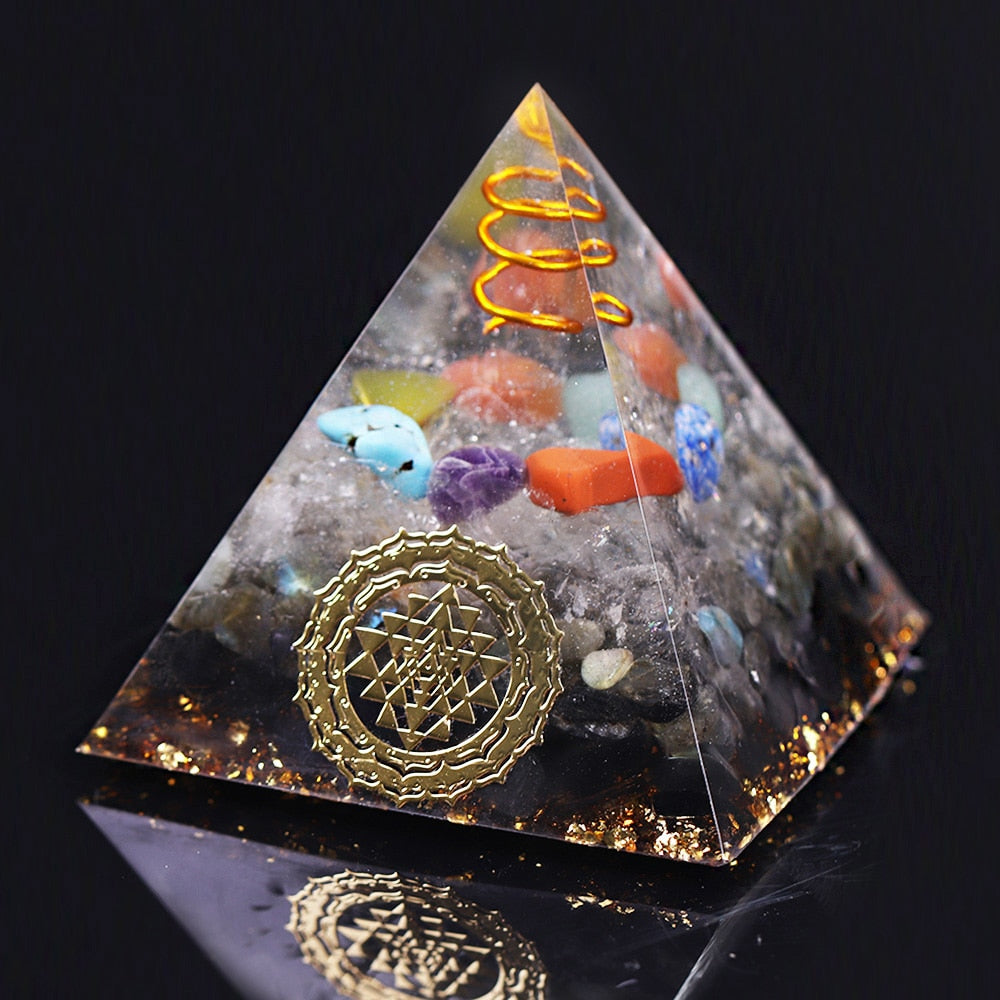 Orgonite de Protection des Chakras