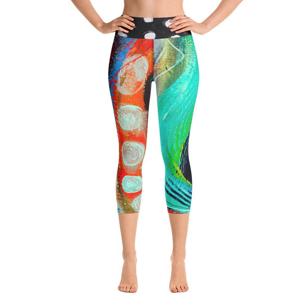 Twisted Yoga / Activewear Capri pants