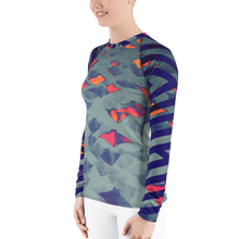 Load image into Gallery viewer, Stingray Women's Rash Guard