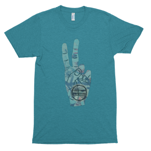 Graffiti Peace Unisex Track Shirt