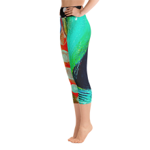 Load image into Gallery viewer, Twisted Yoga / Activewear Capri pants