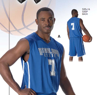 Don Alleson 535J Adult Basketball Jersey