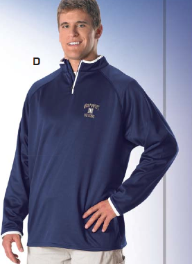 Don Alleson GFQZ2Y Youth Game Day Quarter Zip Fleece