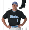 Don Alleson 52MTHJ light Mesh 2 button baseball Jersey