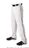 Don Alleson 605WLB 12oz Open Bottom Baseball Pant w/ Piping