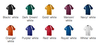 Augusta 218 Wicking Color Block Crew Jersey