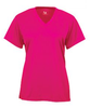Badger 4162 Ladies Neon Performance V neck T