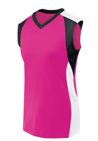 HIGH FIVE 42152 LADIES SLEEVELESS PIRANHA JERSEY