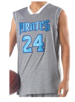 A4 N2348 Mens Reversible Baltimore Muscle Basketball Jersey