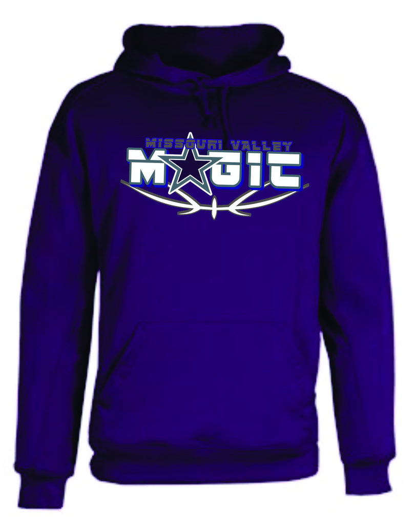 Badger solid performance hoodie-Magic