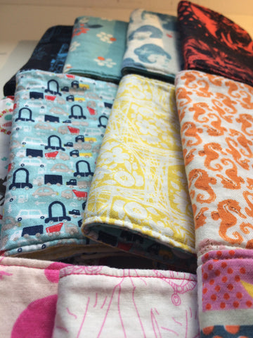 Naptime: Sew Your Own Baby Carrier Suck Pads - April 13th