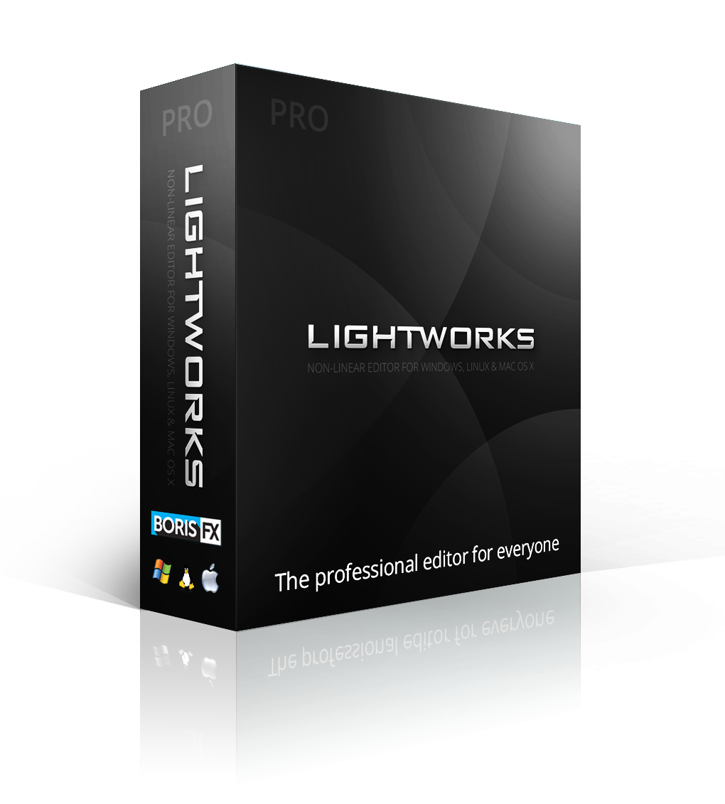 Lightworks Pro v14.5 for Mac, Win, or Linux (Perpetual License)