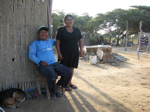 Silvania Georgia Kirkpatrick Rodolfo and his wife at home on their farm