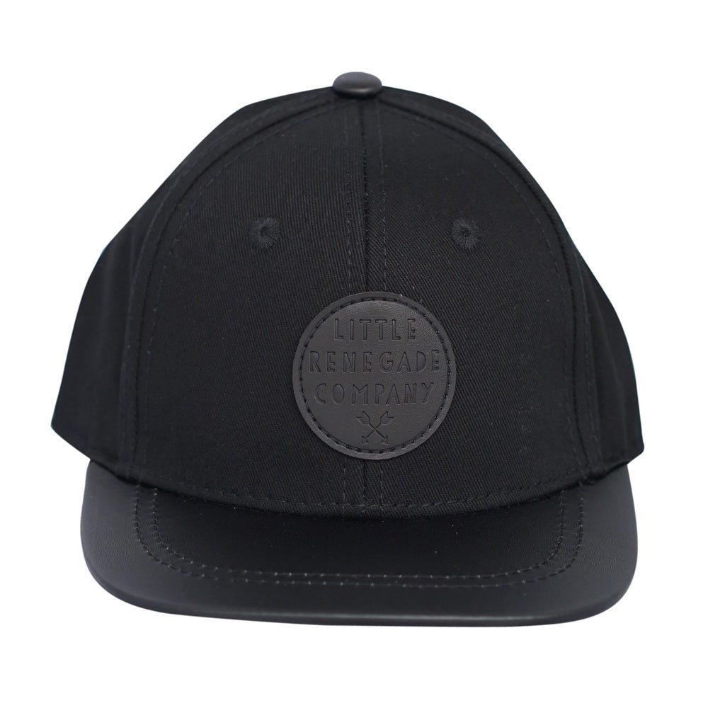 Little Renegade Co Black on Black Cap