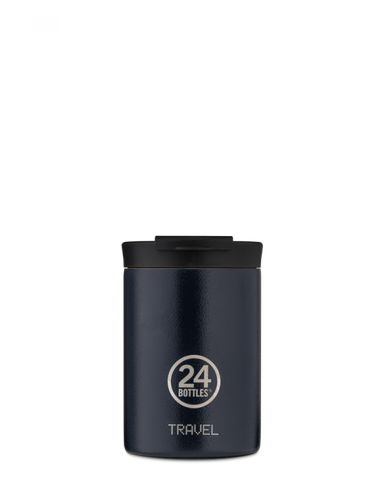 24 Bottles Travel Tumbler 350ml Deep Blue