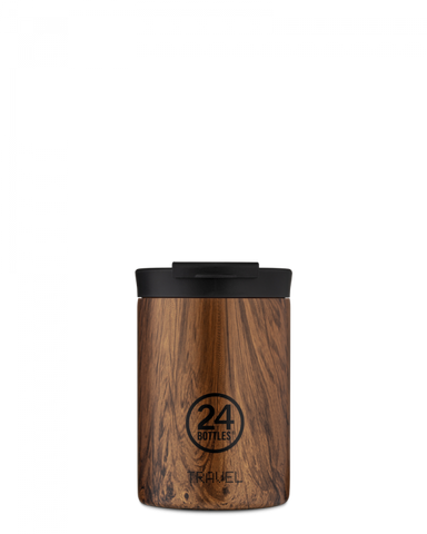 24 Bottles Travel Tumbler 350ml Wood