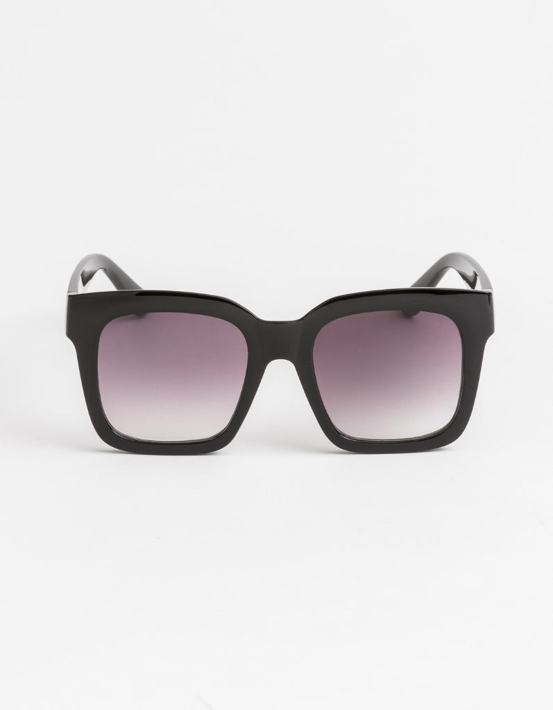 Stella & Gemma Gwyneth Matt Black Sunglasses