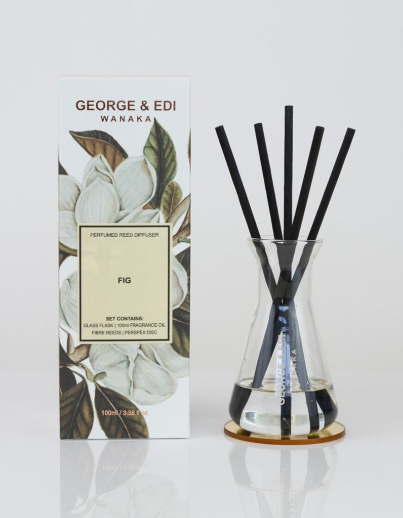 George & Edi Perfumed Diffuser Set Fig