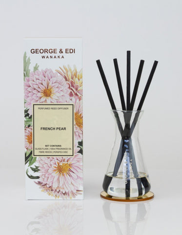 George & Edi Perfumed Diffuser Set French Pear