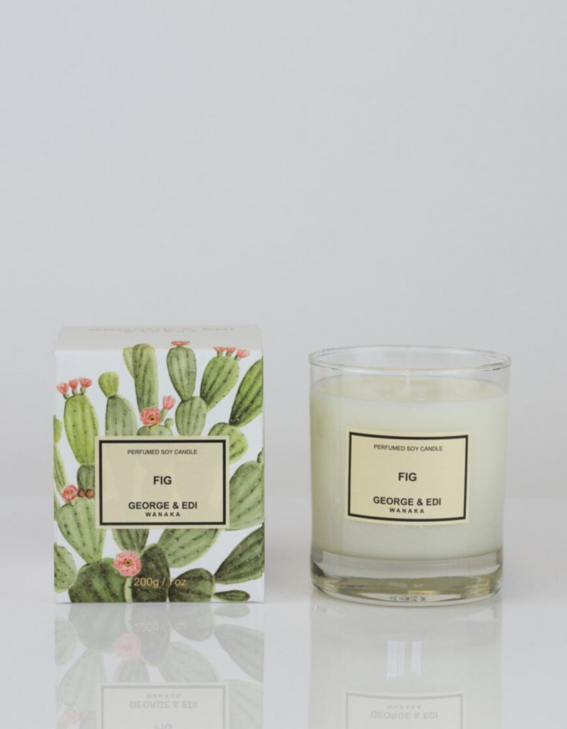 George & Edi Perfumed Candle Standard Fig