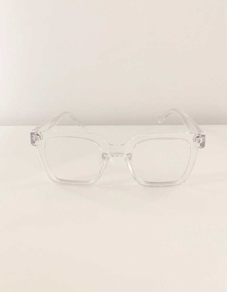 Stella & Gemma Readers Milan Translucent Clear