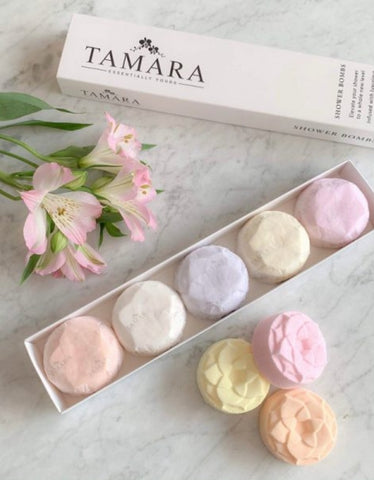 Tamara Shower Bombs Botanical Collection 5 Pack