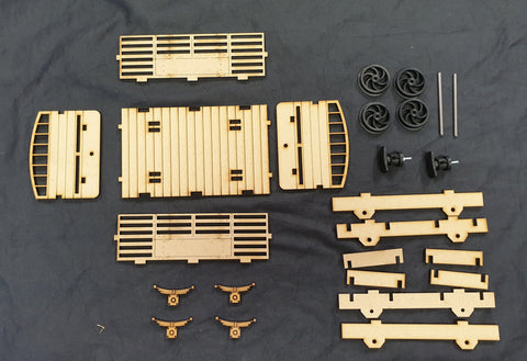 16mm Open Sheep Wagon Laser Cut Kit