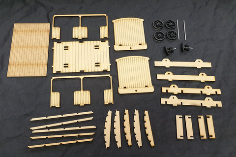 16mm Open Coach Laser Cut Kit